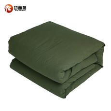 Genuine pure cotton army was quilt hot melt cotton army green warm winter student special offer <military hot melt was
