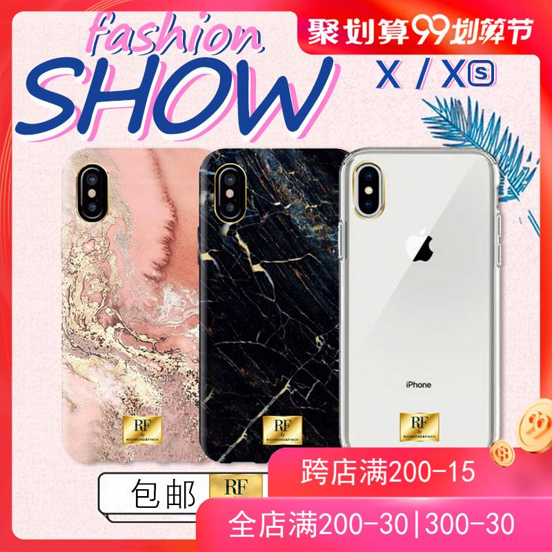 Richmond&Finch苹果XS/Max iPhoneX/8P iPhone 8/7/Plus RF手机壳