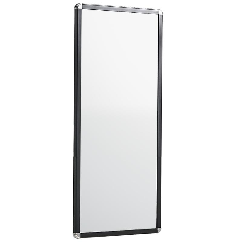 卡贝镜子衣柜试衣镜卧室全身镜子推拉折叠伸缩镜内置隐藏式穿衣镜