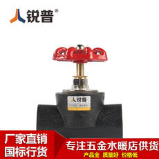 Ruipu PE lifting shut-off valve Pure copper valve Globe valve HDPE valve PE water supply pipe fittings
