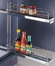Side plate pumping seasoning basket double-layer plate side basket 150-200 cabinet specials