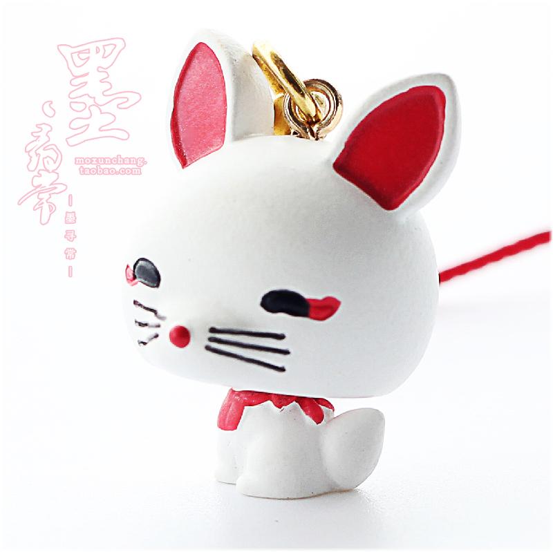现货包邮【伏见稻荷大社-稻荷狐狸(狐仙)挂件】可爱萌物 小狐丸