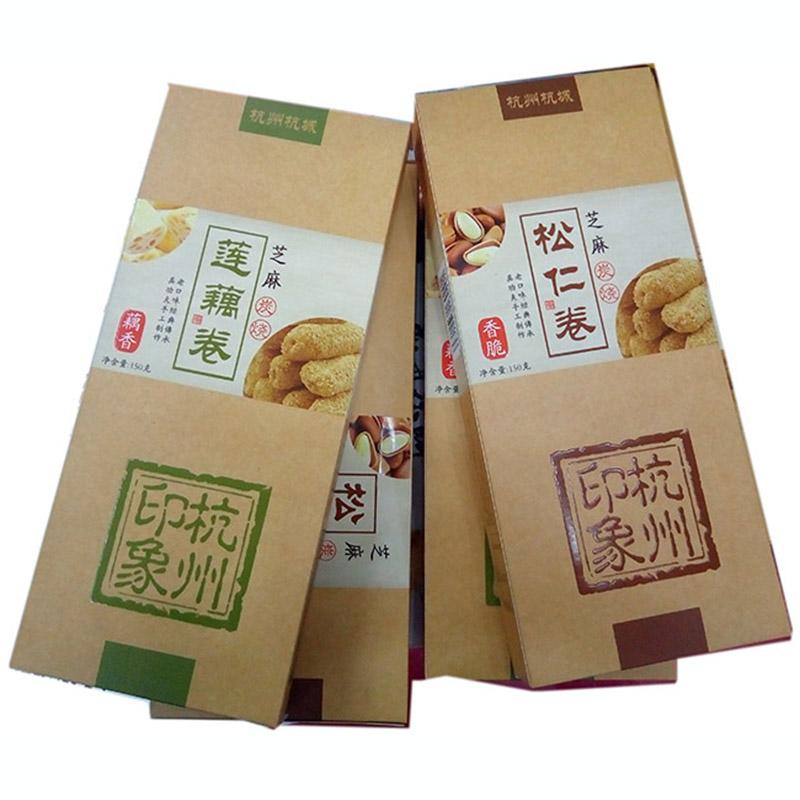 西湖松仁150克礼物炭烧特产卷莲藕卷杭城杭州v松仁芝麻三盒起售长寿仁豌豆种植图片