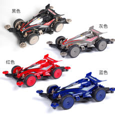 Yang Hao electric four-wheel drive brother sprint meteor puzzle student science and education assembled diy racing track four-wheel drive