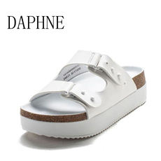 Daphne / Daphne summer fashion buckle simple thick bottom with casual women's slippers sandals 15163003003