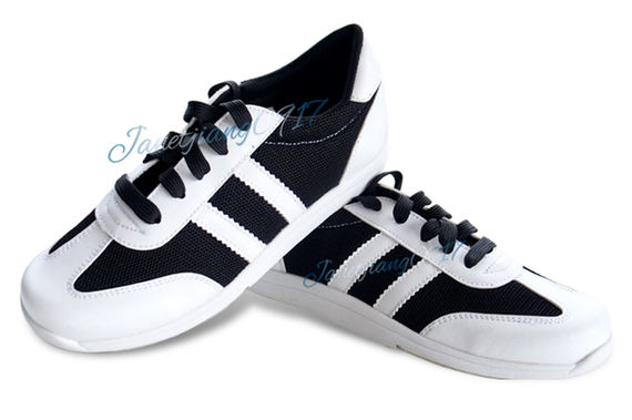 Special offer bowling shoes men's models women's public shoes beginners left hand shoes players are suitable for general black and white