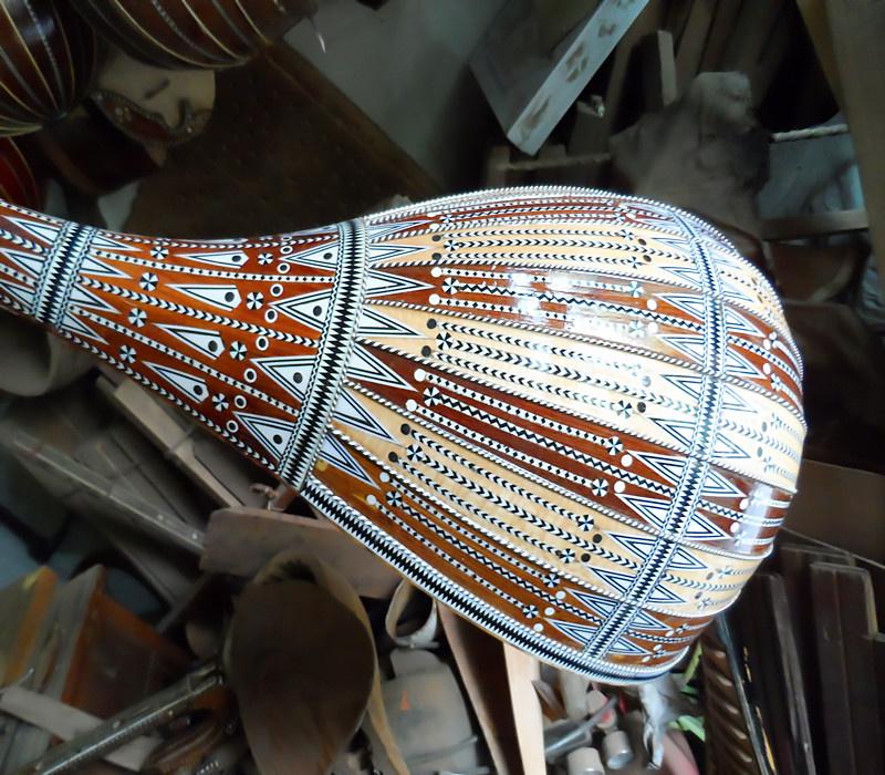 新疆母卡木演奏团专用乐器1米32CM都塔尔手工制作包邮