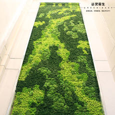 Mossy wall artificia...