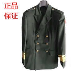 Authentic art troupe dress / spring and autumn uniforms dress / performance courtesy service 仗 仗 team wedding dress send 绥 belt