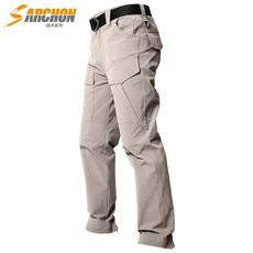 Summer outdoor quick-drying pants men's ultra-thin breathable trousers special forces tactical trousers stretch quick-drying hiking pants