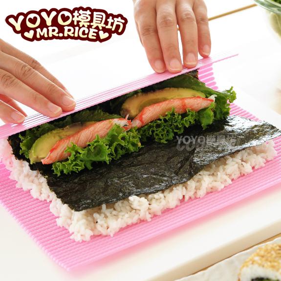 寿司帘 紫菜包饭 寿司卷帘 经典款日本便当寿司DIY工具 方便卫生