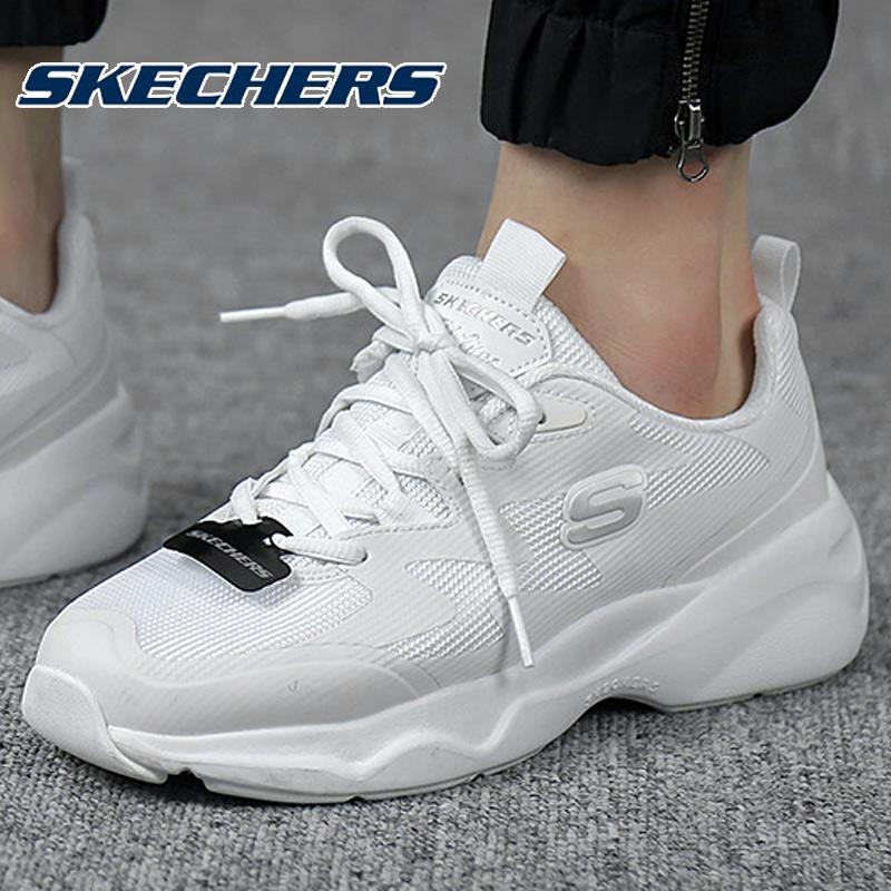 斯凯奇熊猫鞋女鞋2049春新款D'LITES系列运动休闲鞋板鞋88888155