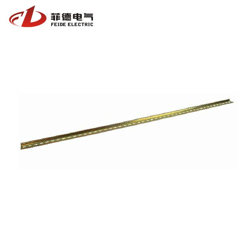 菲德 断路器导轨 接线端子导轨 空开铁铝国标导轨 1mm厚1米长