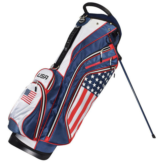 Golf stand bag female male golf stand bag ultra light semi-waterproof shoulder ball bag straight