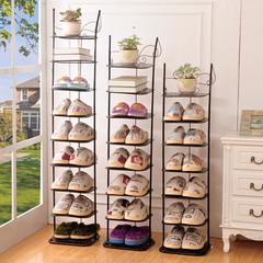 铁艺多层鞋架防尘收纳金属简易小鞋柜子经济型家用客厅宿舍收纳柜