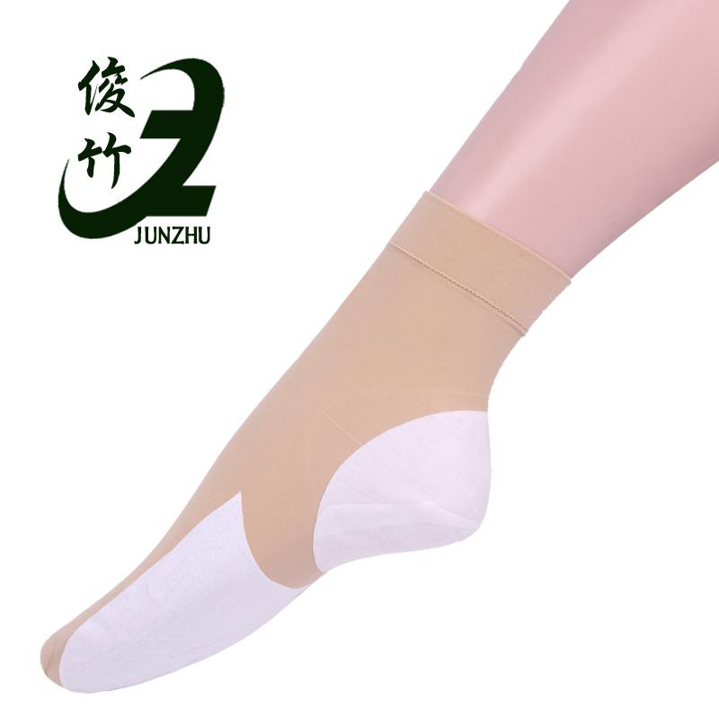 俊竹防裂袜 脚裂袜 女士全脚型 丝袜 足列袜夏季短袜 脚裂袜子