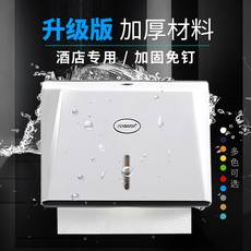 Hotel bathroom hand towel tray toilet tissue box free punching wall-mounted bathroom kitchen waterproof tray