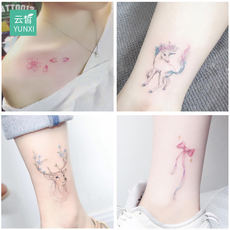 Yunxiao tattoo stickers waterproof men and women durable Korean simulation small fresh stickers ins wind net red sexy 50