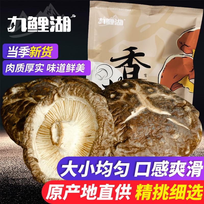 九鲤湖 香菇干货 200g 农家特产蘑菇冬菇干香菇珍珠菇冬菇金钱菇