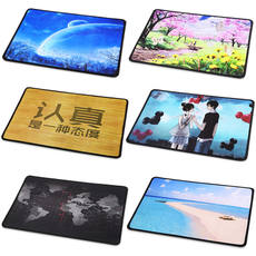 Mouse pad pad desk pad Thicken anime game mouse pad cartoon cute creative advertising mouse computer