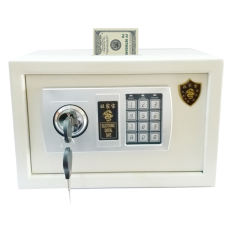 Office commercial supermarket hotel hotel password money box mini small safe 20 coin-operated cash register safe