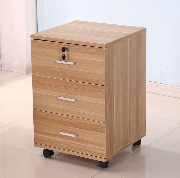 特价侧柜办公文件柜三抽移动柜床头柜储物柜收纳柜矮柜现代