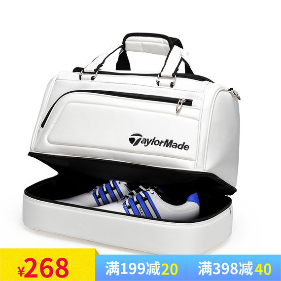 Golf golf clothing bag double-layer clothing bag golf bag men and women clothing bag can be loaded with shoe bag