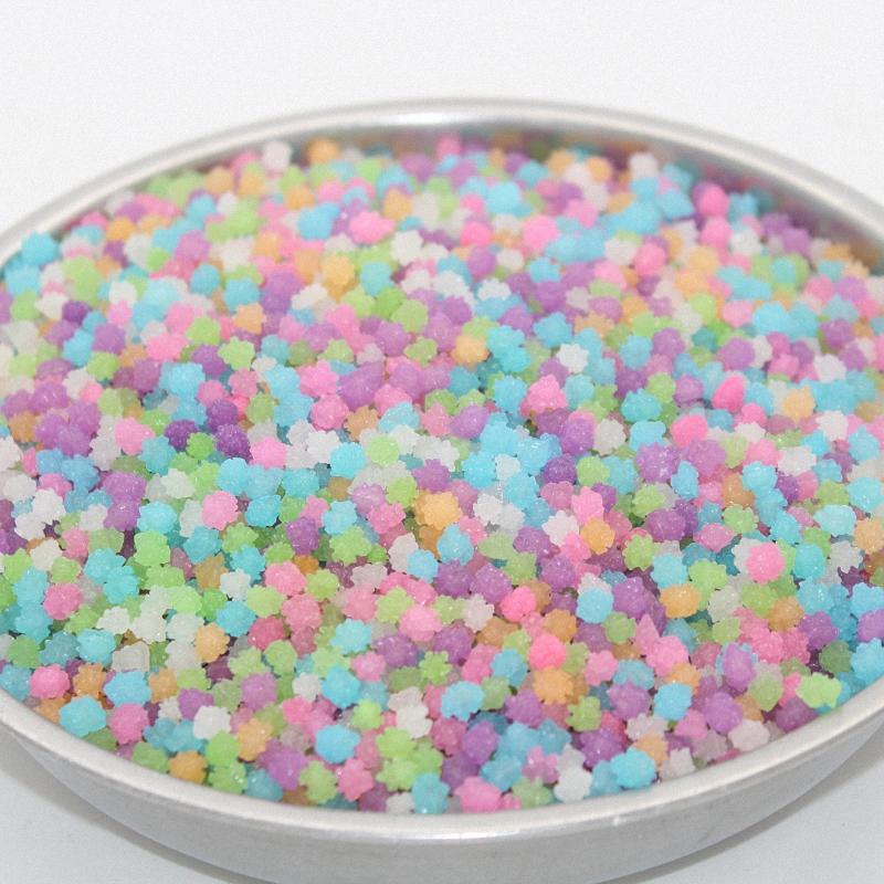 1斤装星星糖金平糖散装许愿瓶糖手工糖果花糖和风菓子砂糖包邮