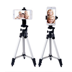 Mobile phone SLR tripod digital camera portable trip Travel easy and convenient chatter fast live video