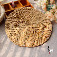 30cm grass straw mat pastoral retro art shop photography photo shoot background props ornaments