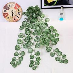 半手工花海棠仿真壁挂墙面装饰植物藤蔓壁挂塑料仿真藤条