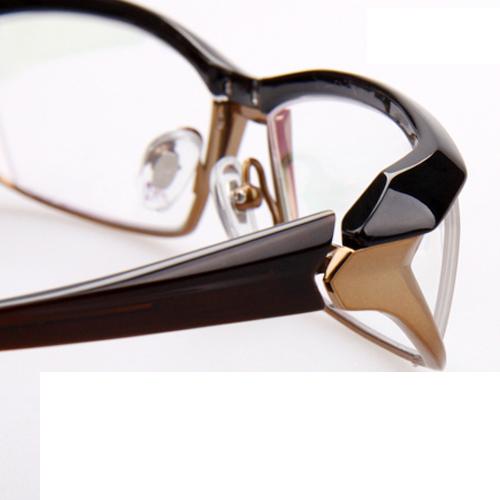 松岛正树MF-1142同款 近视眼镜框 男式商务眼镜 男款眼镜架大脸