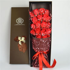 99 roses birthday gift girl 520 Valentine's Day to send girlfriend wife girlfriends creative practical gifts