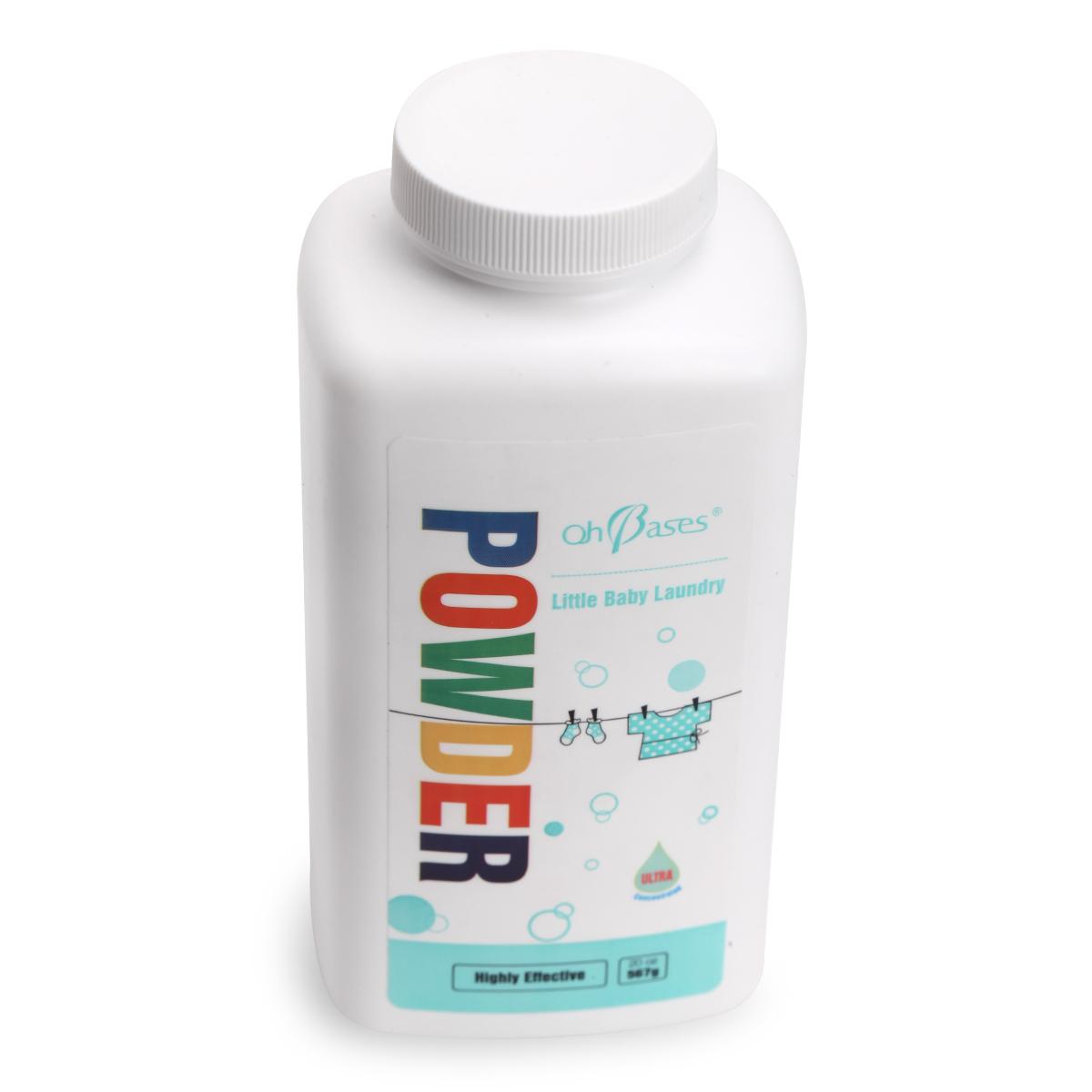 美国ohbases婴儿洗衣粉 宝宝专用衣物清洁 儿童天然浓缩洗衣粉