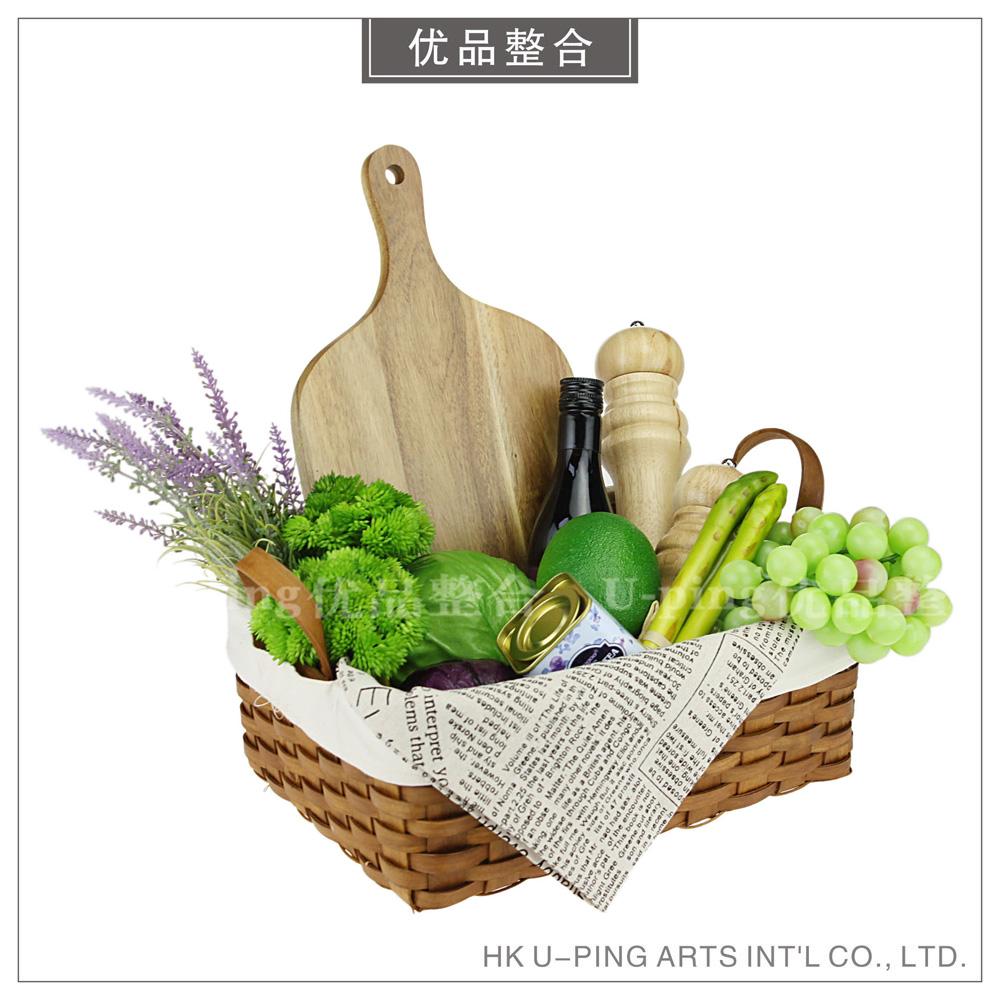 样板房简约现代软装家具厨房摆件装饰品仿真蔬菜水果组合ZH1262