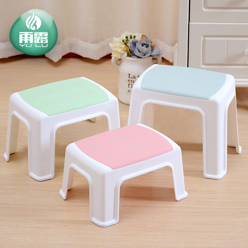 防滑创意小凳子塑料儿童卡通板凳矮凳成人加厚家用洗手凳可爱浴室