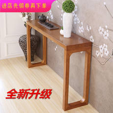 Simple porch table solid wood porch table partition bar fragrant case sofa back wall table decoration cabinet