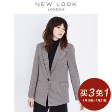 [Buy 3 free 1]NEW LOOK2018 women's houndstooth casual suit jacket | 543913529