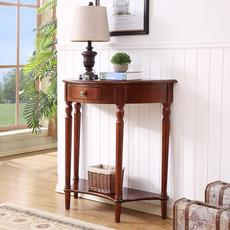 American solid wood porch table porch cabinet hall cabinet semi-circular porch porch cabinet with drawer porch cabinet