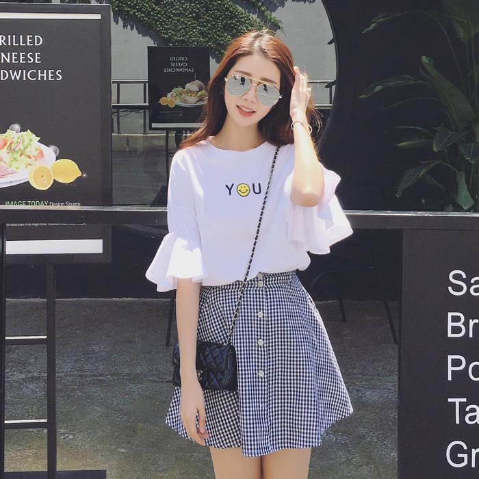 2018初中生连衣裙12-14岁夏季中学生裙子夏13-15少女孩夏装16韩版