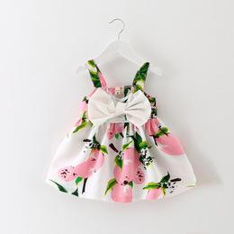 女童连衣裙0-1婴儿裙子夏纯棉小儿童公主裙夏季2-3一岁女宝宝夏装