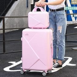 韩版可爱特价男女包邮拉杆箱万向轮密码行李箱旅行登机箱子母箱潮