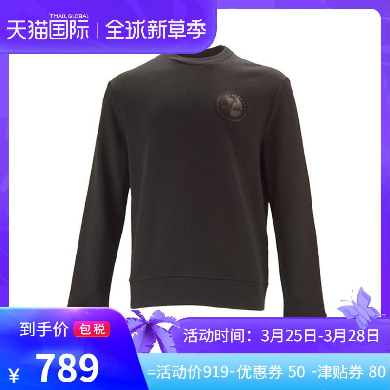 VERSACE范思哲COLLECTION系列 正品秋冬男士图章卫衣V800821L