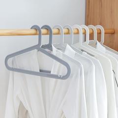 衣架家用卧室晾衣服架子儿童挂衣架挂钩衣柜无痕防滑成人衣服撑子