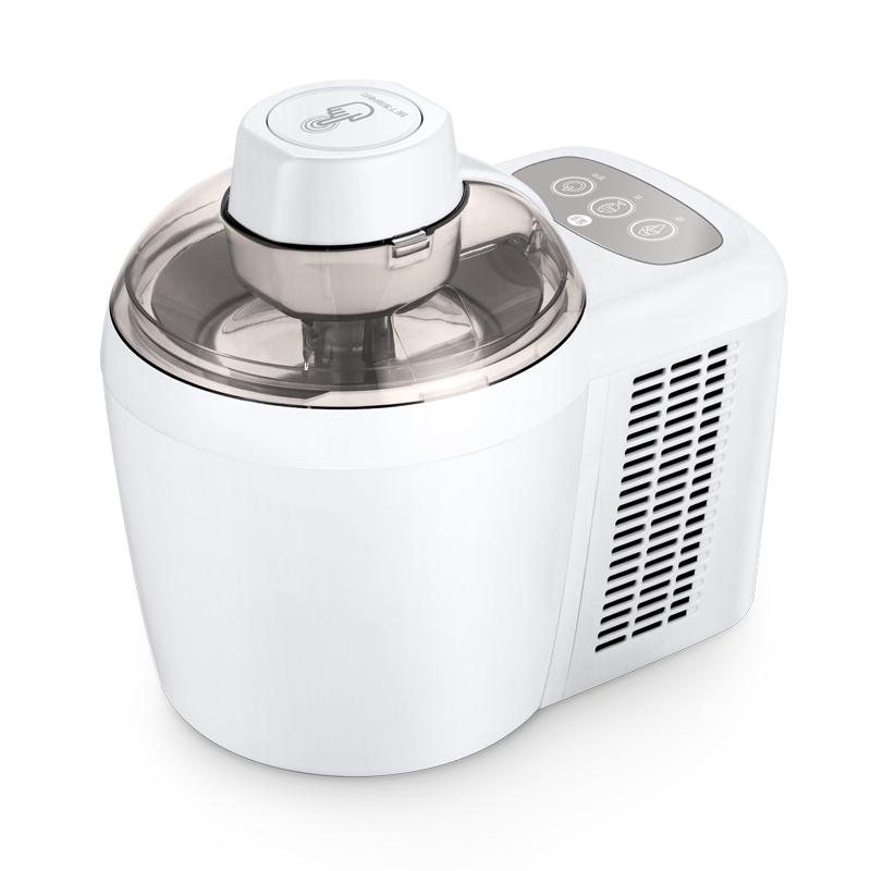 全自动带制冷冰淇淋机家用水果冰激凌机儿童diy雪糕自制可吃炒冰