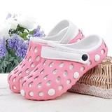 夏季情侣休闲花园鞋夏天运动凉鞋猪笼鞋女洞洞鞋大头鞋拖鞋 包邮