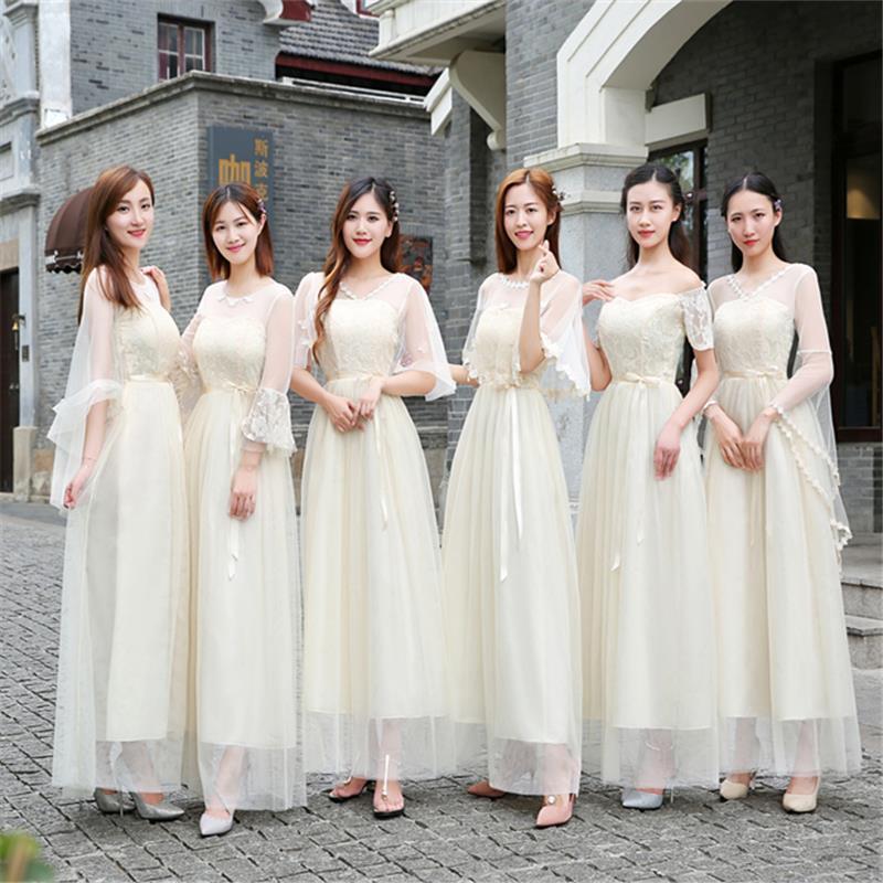 伴娘礼服女短款个性中式时尚鱼尾韩式绸缎造型宴会搭配个性2019新
