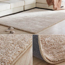 Thickening stretch silk bedroom carpet modern minimalist living room home coffee table mat European style sofa carpet bedside