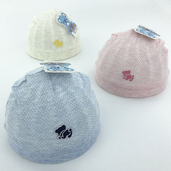 0-3 months newborn hat summer tire cap boys and girls baby headgear thin section single layer newborn baby hat