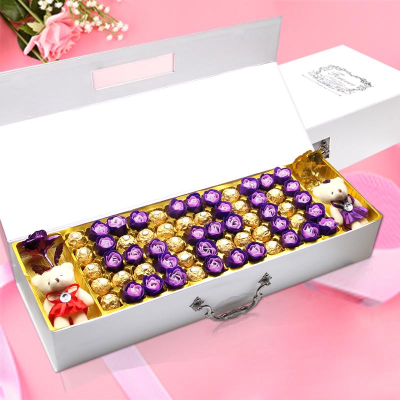 费列罗巧克力礼盒装 送女友情人节创意男女朋友生日礼物浪漫表白
